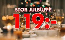 Stor julbuffé 119 kr